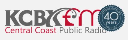 KCBX FM Interview Series