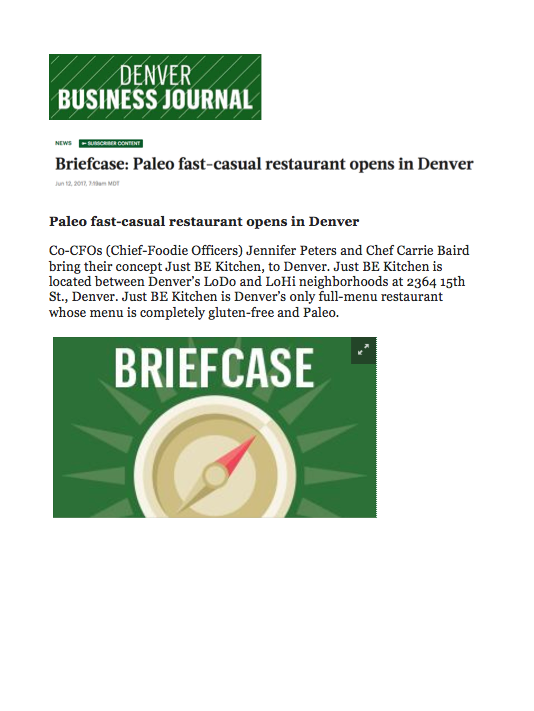 Denver Business Journal Briefcase