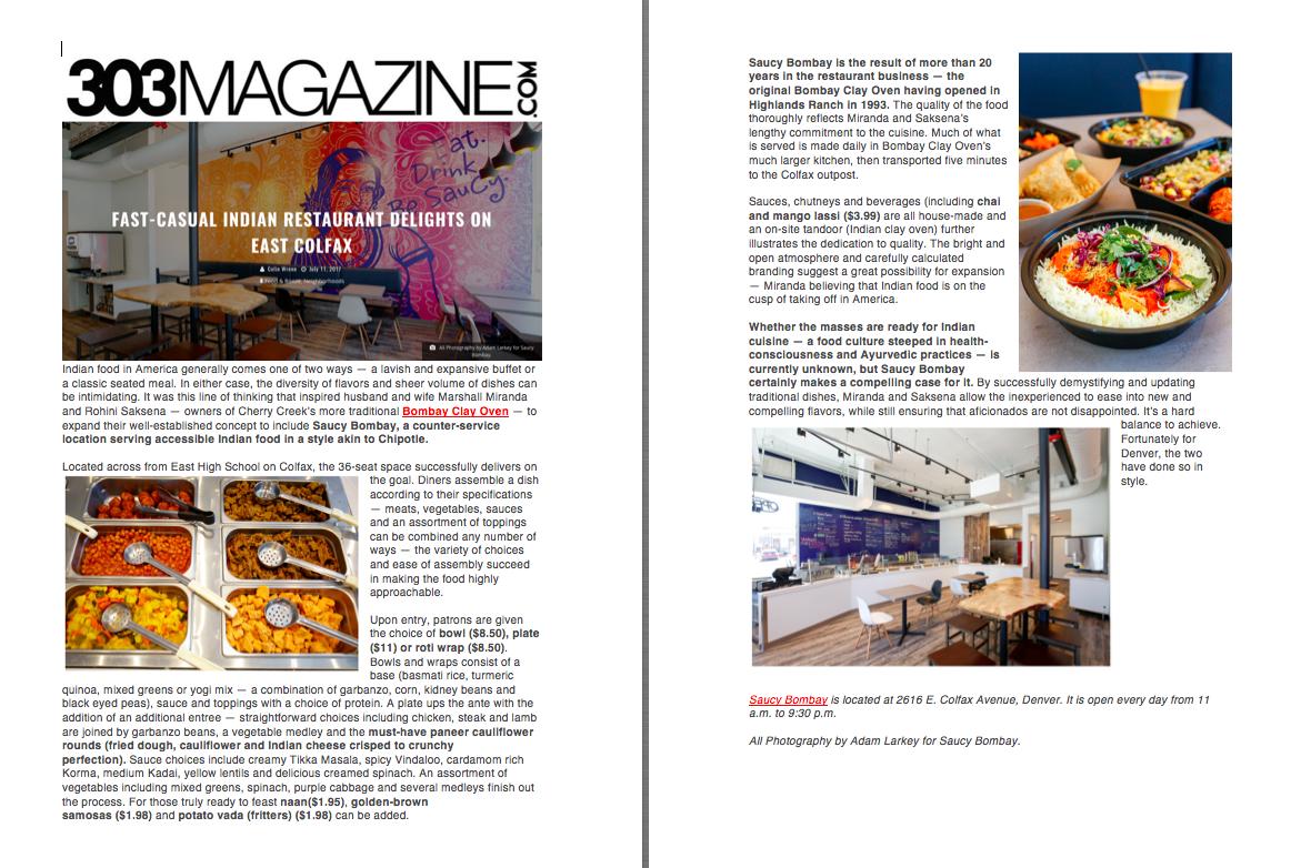 303 Magazine Review