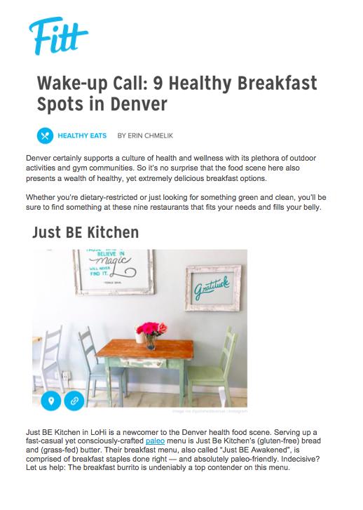 Fitt Healthy Breakfast in Denver