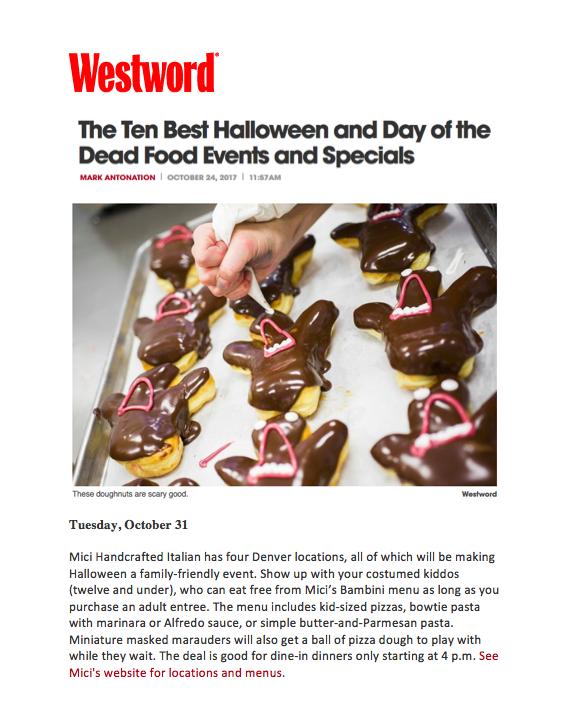 Westword Halloween Special