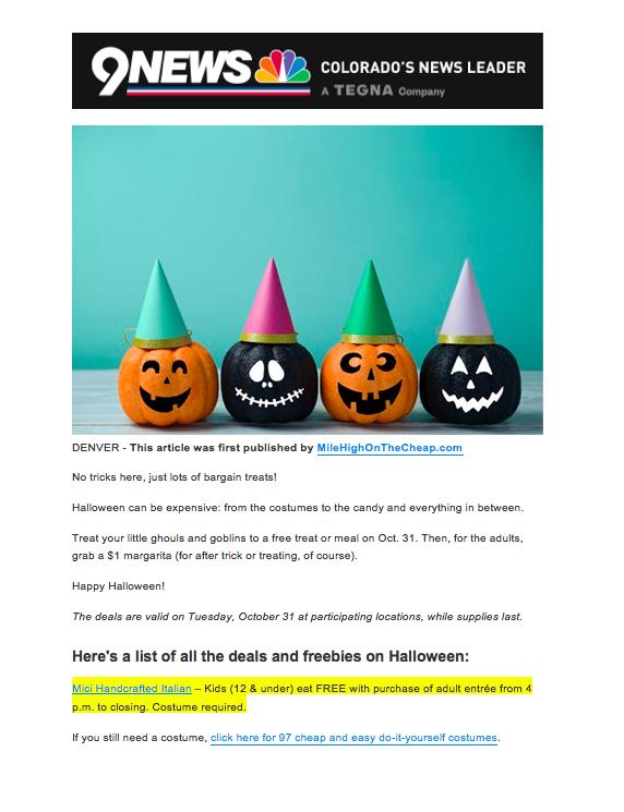 9News.com Halloween