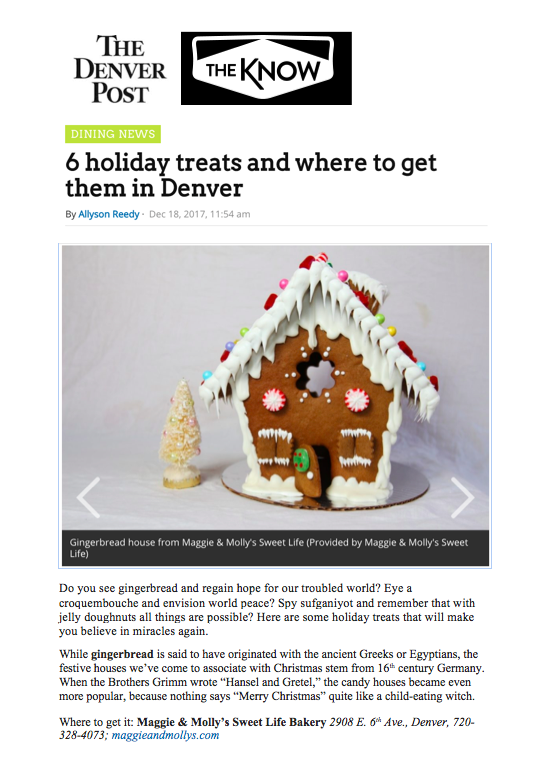 Denver Post The Know Holiday Treats