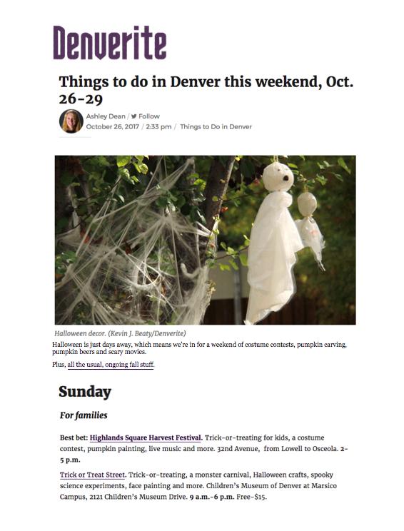Denverite Harvest Festival