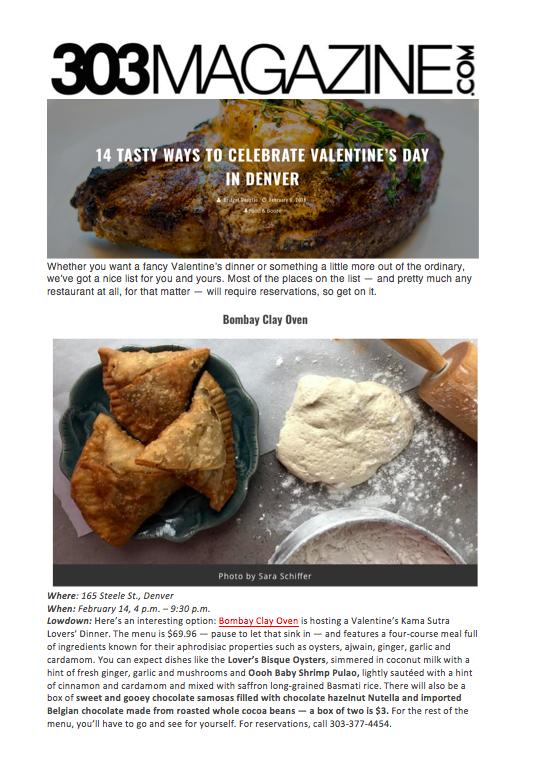 303 Magazine Valentine's Day