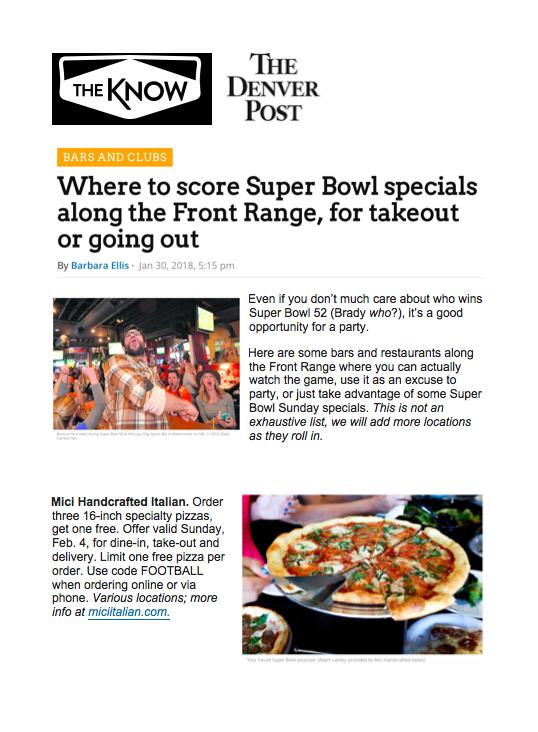 Denver Post Super Bowl