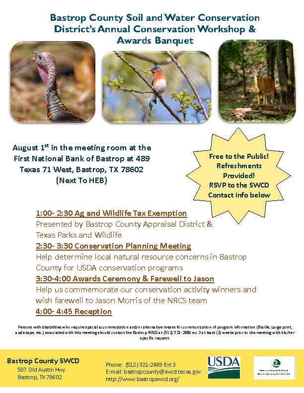 Bastrop County Conservation Workshop August 1st.jpg