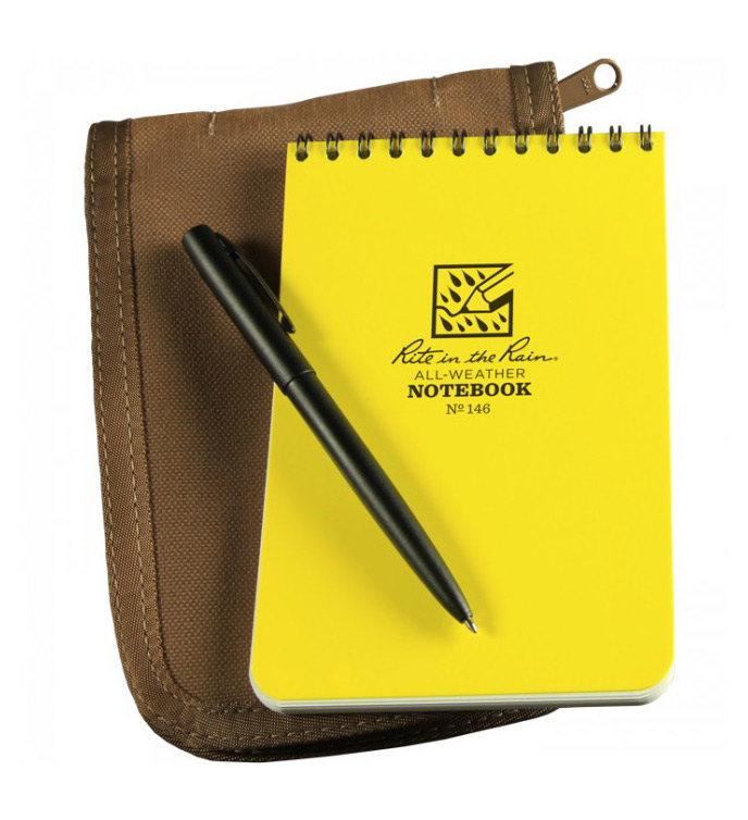 Rite In The Rain Notebooks, $10-25    If you've done any fieldwork, you're probably aware of the benefits of using Rite in the Rain waterproof notebooks first hand. They come in a variety of sizes and are indispensable when conditions are wet.  Rite In The Rain