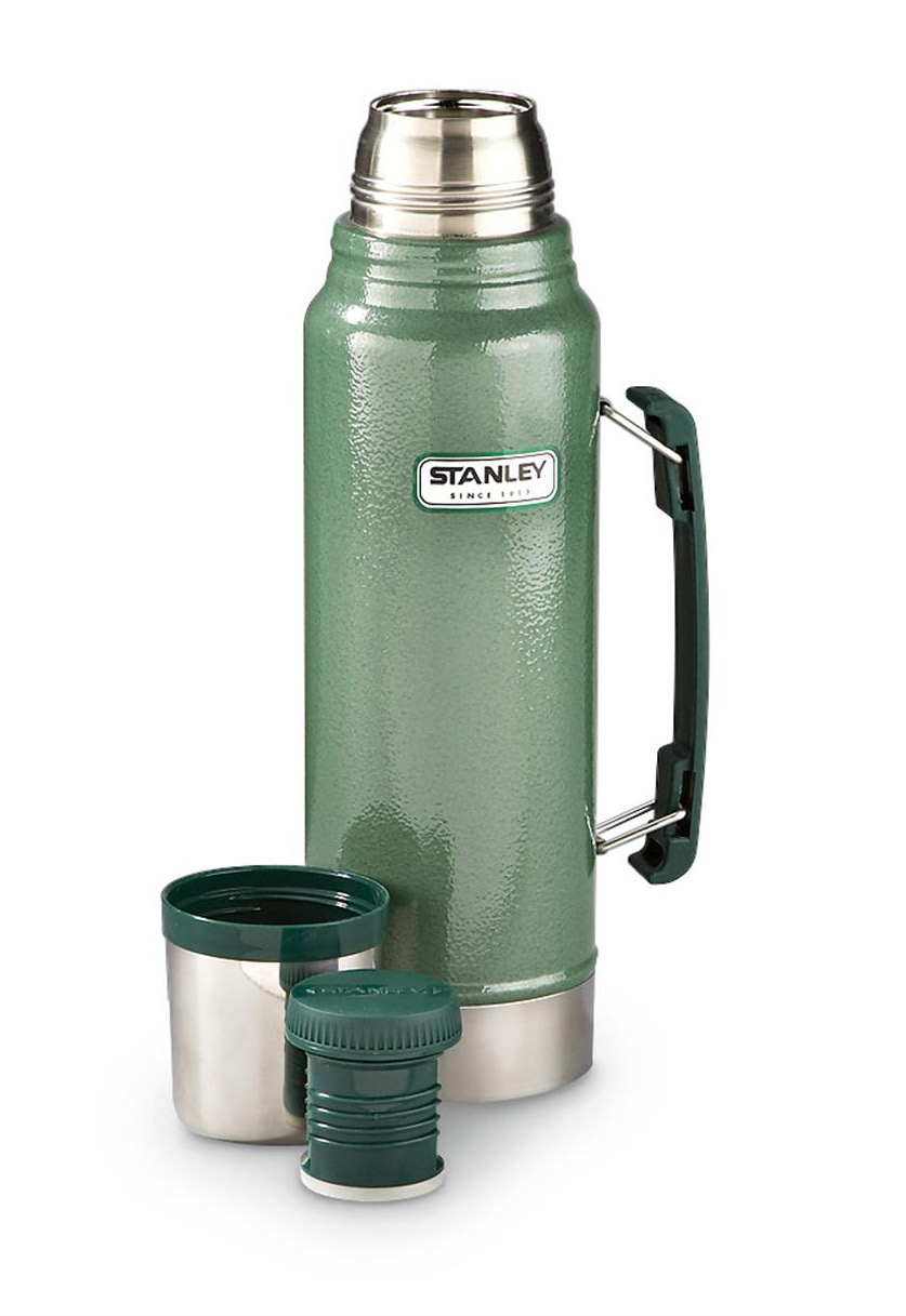 Stanley Classic Bottle  , $40    It may not be the prettiest thermos ever made, but Stanley's Classic Vacuum Bottle is a time-honored part of any field scientist's kit. The nearly indestructible vacuum bottle is guaranteed to keep your coffee or cocoa warm for 24 hours.  Stanley