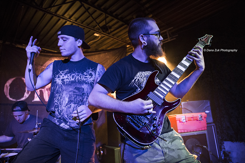 RINGS OF SATURN - 2014 - HARVESTING HELL FESTIVAL
