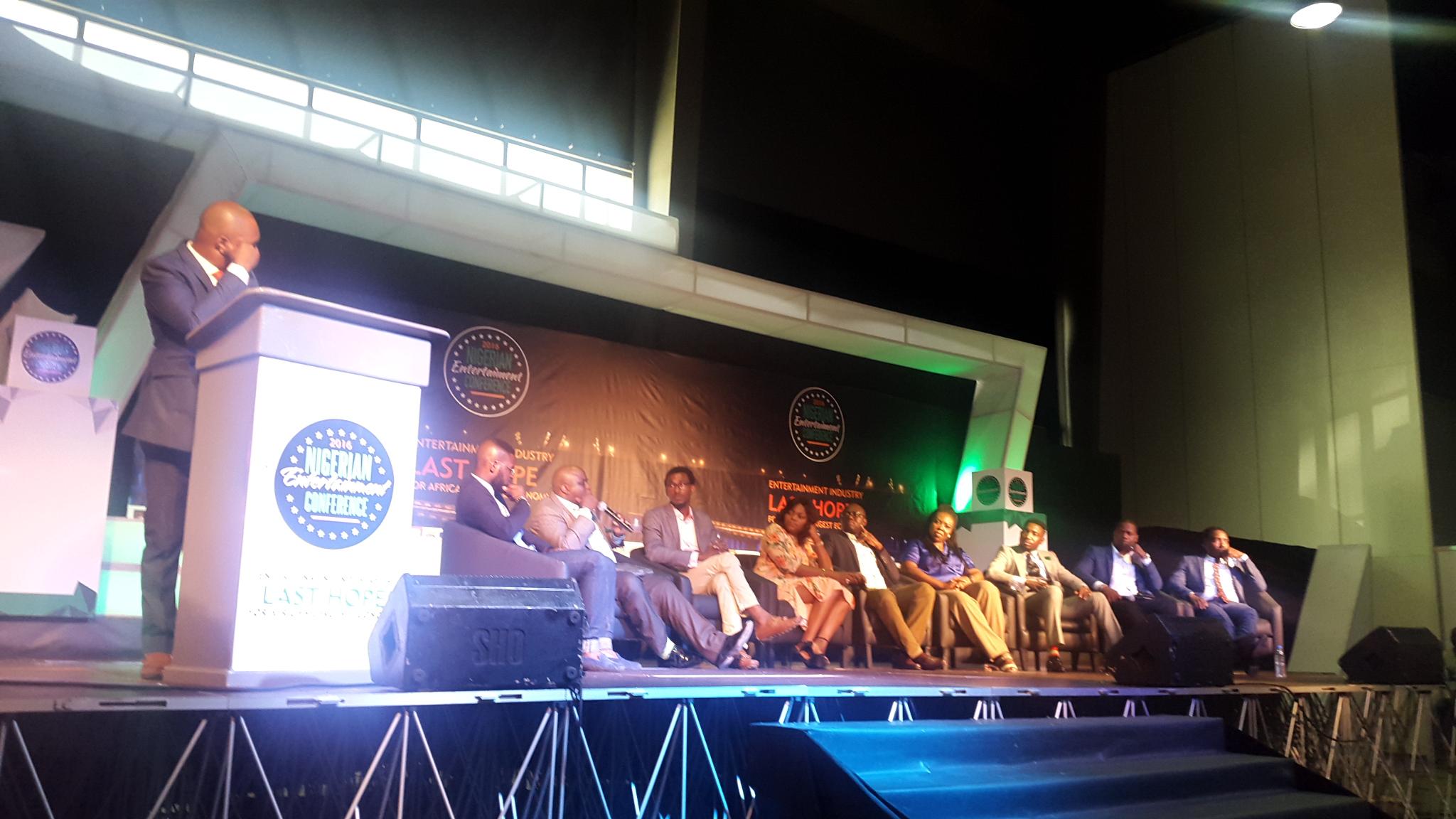 Panelists at NEC4