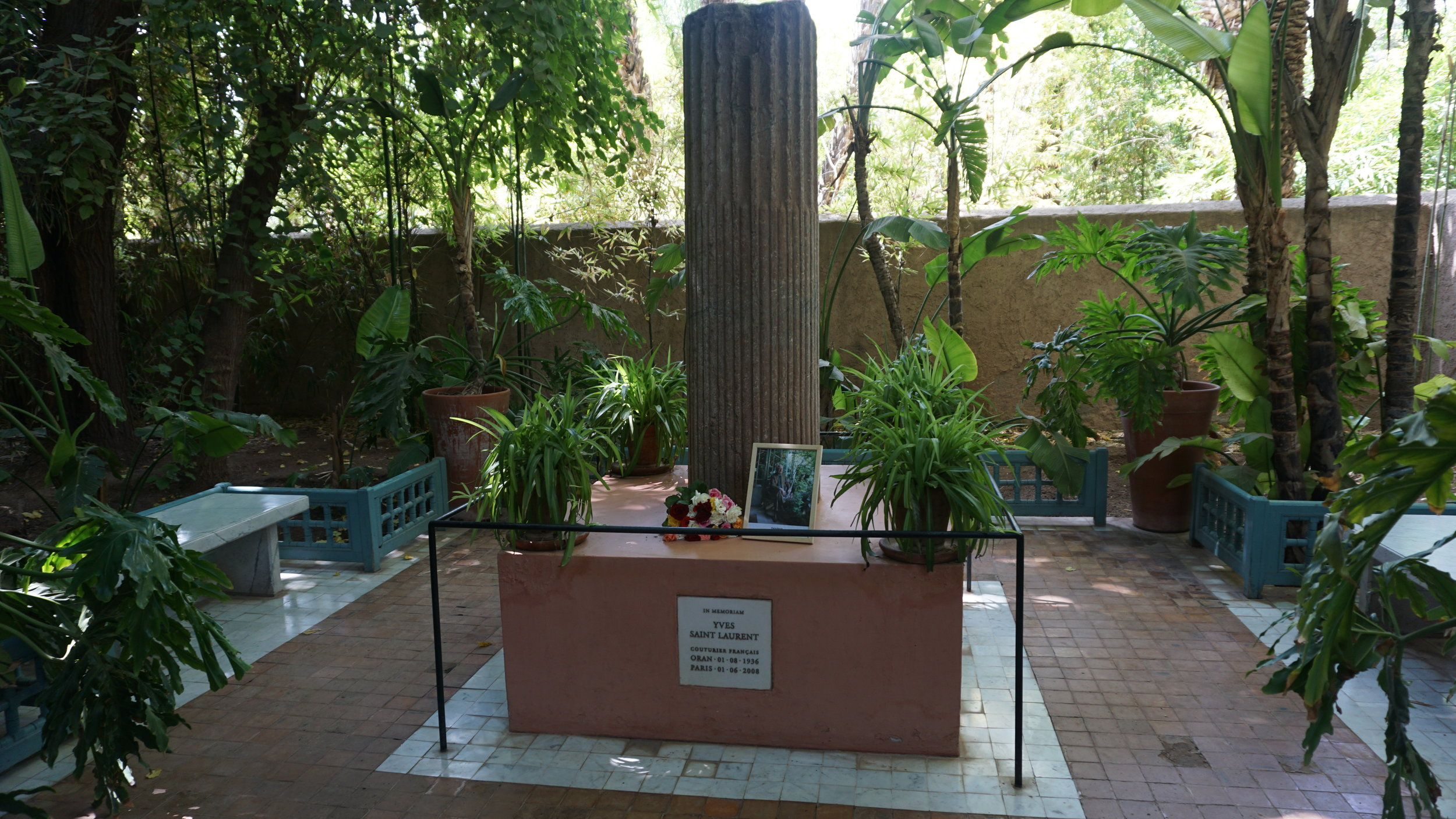 YSL Memorial in Jardin Majorelle, Marrakech