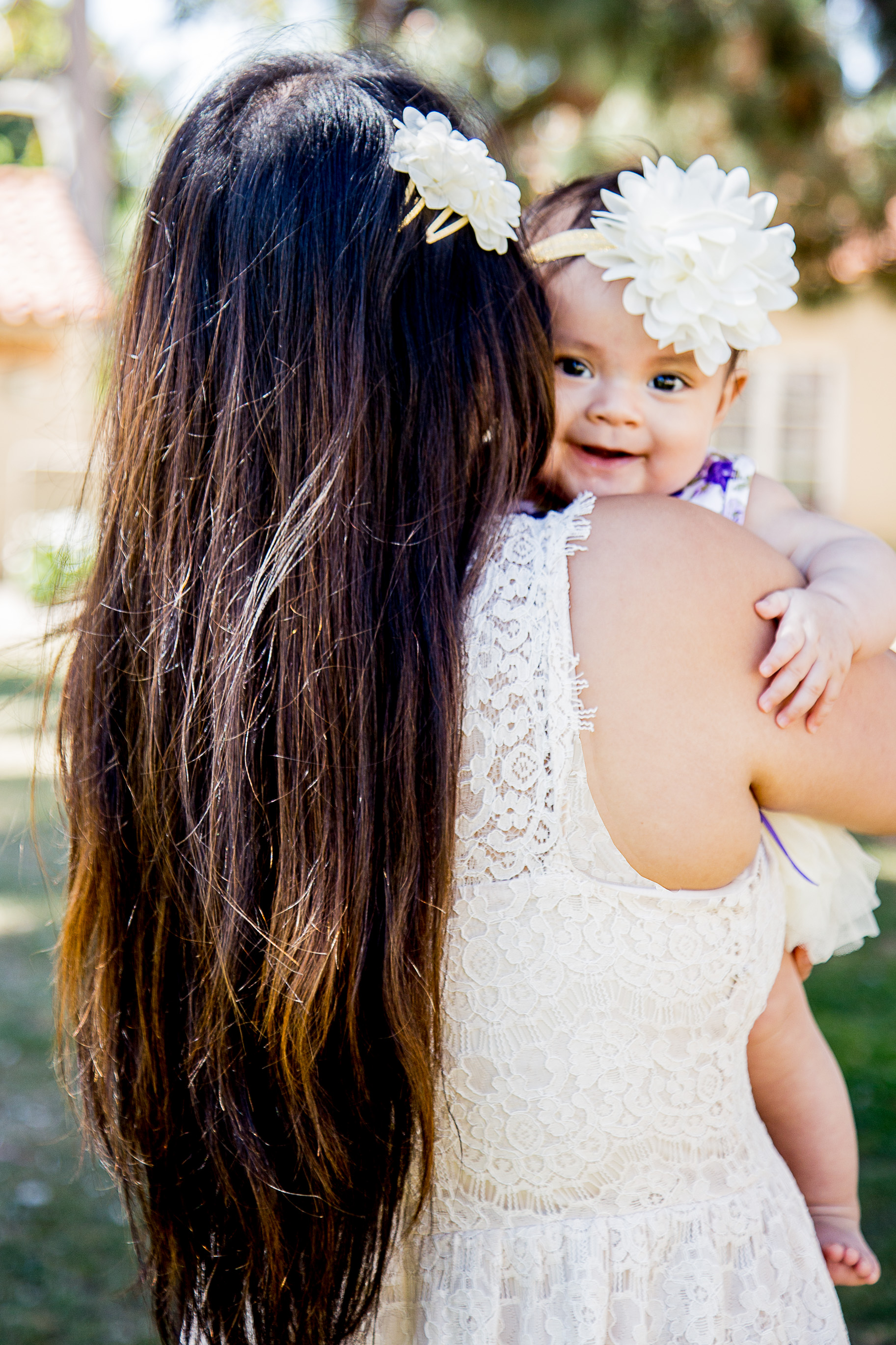 Balboa-park-mommy-session-five-month-baby-cutural-cottages-san-diego-california-purple-and-cream-lace-florals