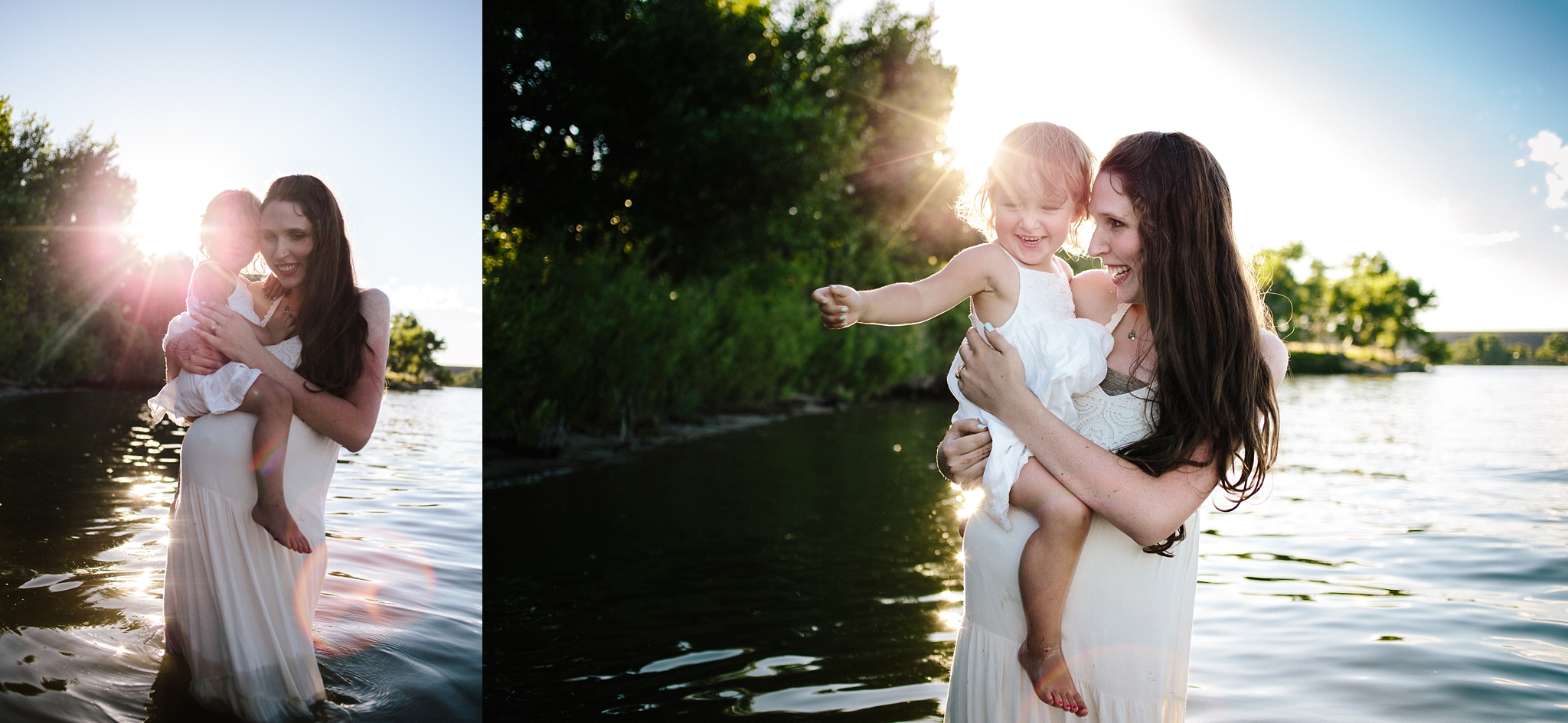 Family Maternity Session in Denver CO