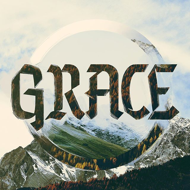 🙏🏽 Stoked with this creation. This is a result of just purely designing. Today, I wanted to just make something awesome without client briefs, client deadlines, or design pressures. Sometimes it's good to just let your creativity flow. #grace #sermonseries #church #churchmedia #crtvchurch #prochurchmedia #bible #christian #calledtocreate #churchdesign #graphicdesign #churchgraphics #design #media #create #christiancreative #sundaysocial #inspiration #sermonart #christian #churchresources #alwayscreativo #logotype #design