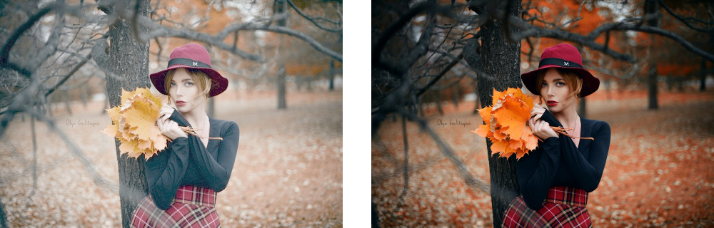 Left: A logarithmically encoded image. Looks washed out, right? That's because it's not designed to look great on your monitor. It's designed to retain as much information in the lightest and darkest parts of the image as possible. Right: only once it's been graded is it ready for prime-time. Images courtesy,  NikonPC.com .