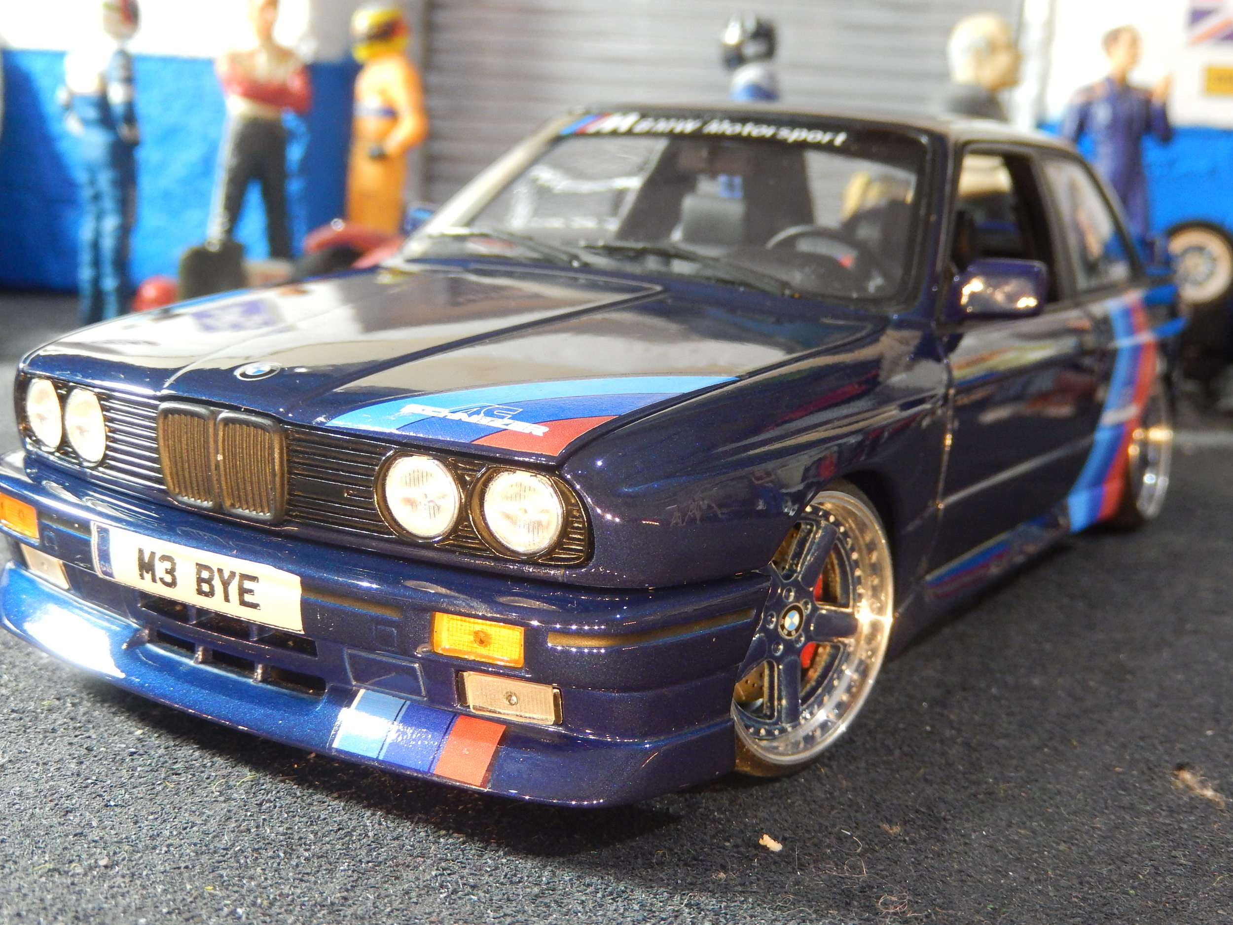 E30 Bmw M3 Schnitzer Modified Tuning 1 18 Scale By Minichamps Cs Diecast Tuning
