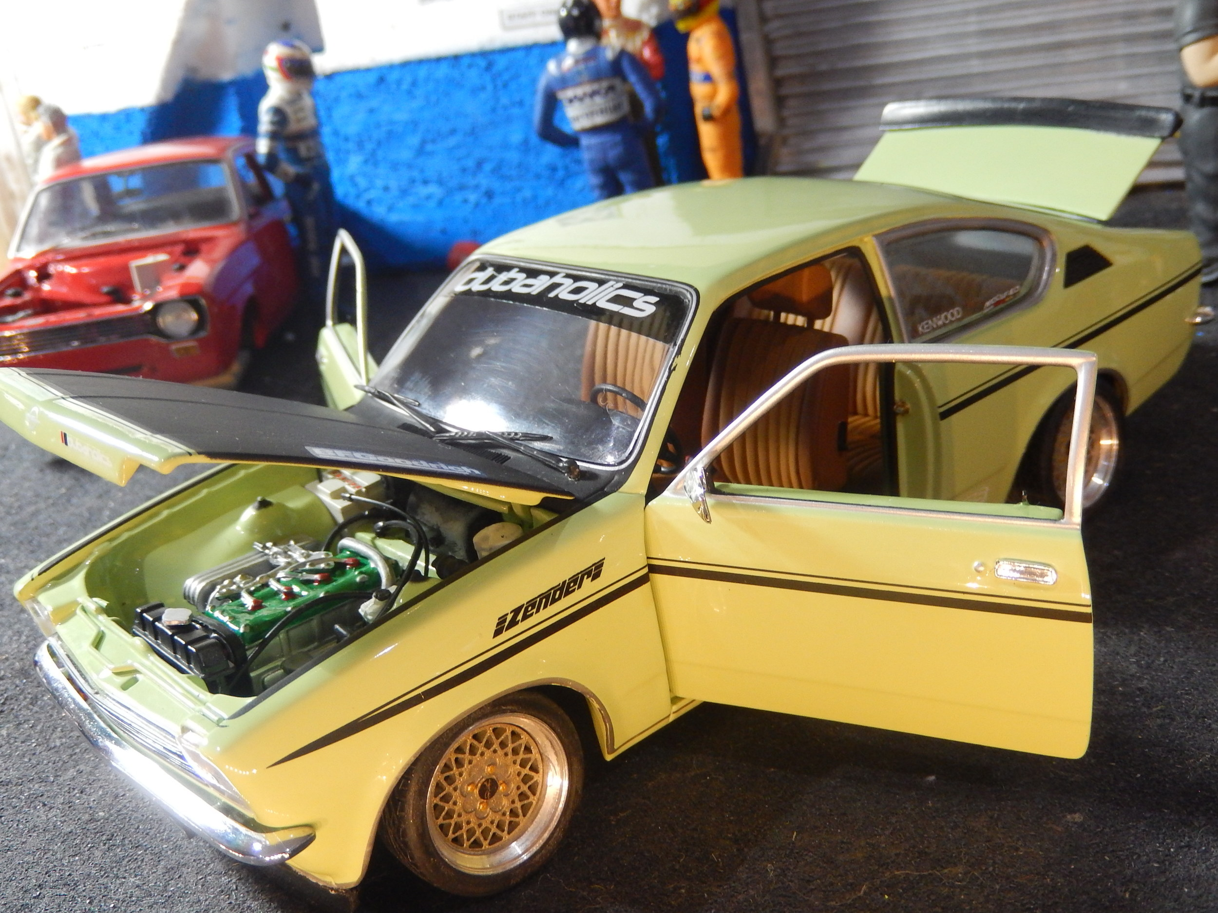 Opel Kadett C Coupe Sr 1800 Bda Modified Tuning 1 18 Scale By Minichamps Cs Diecast Tuning