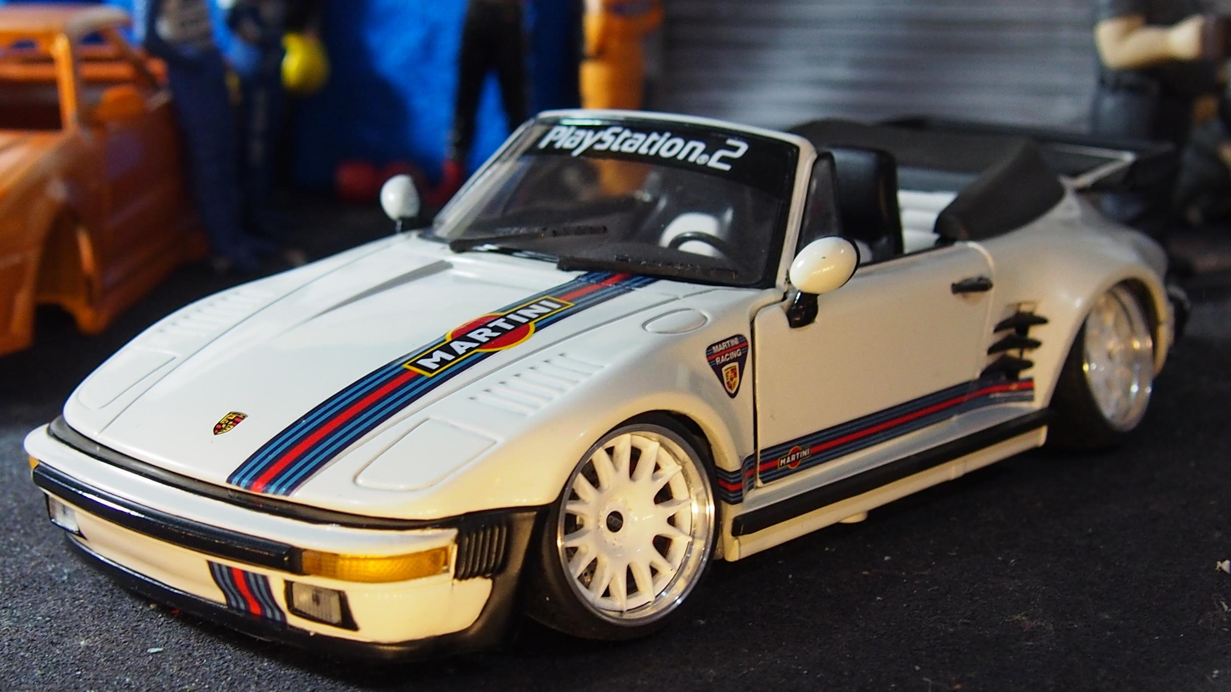 Porsche 930 Slant Nose Cabriolet By Revell Cs Diecast Tuning