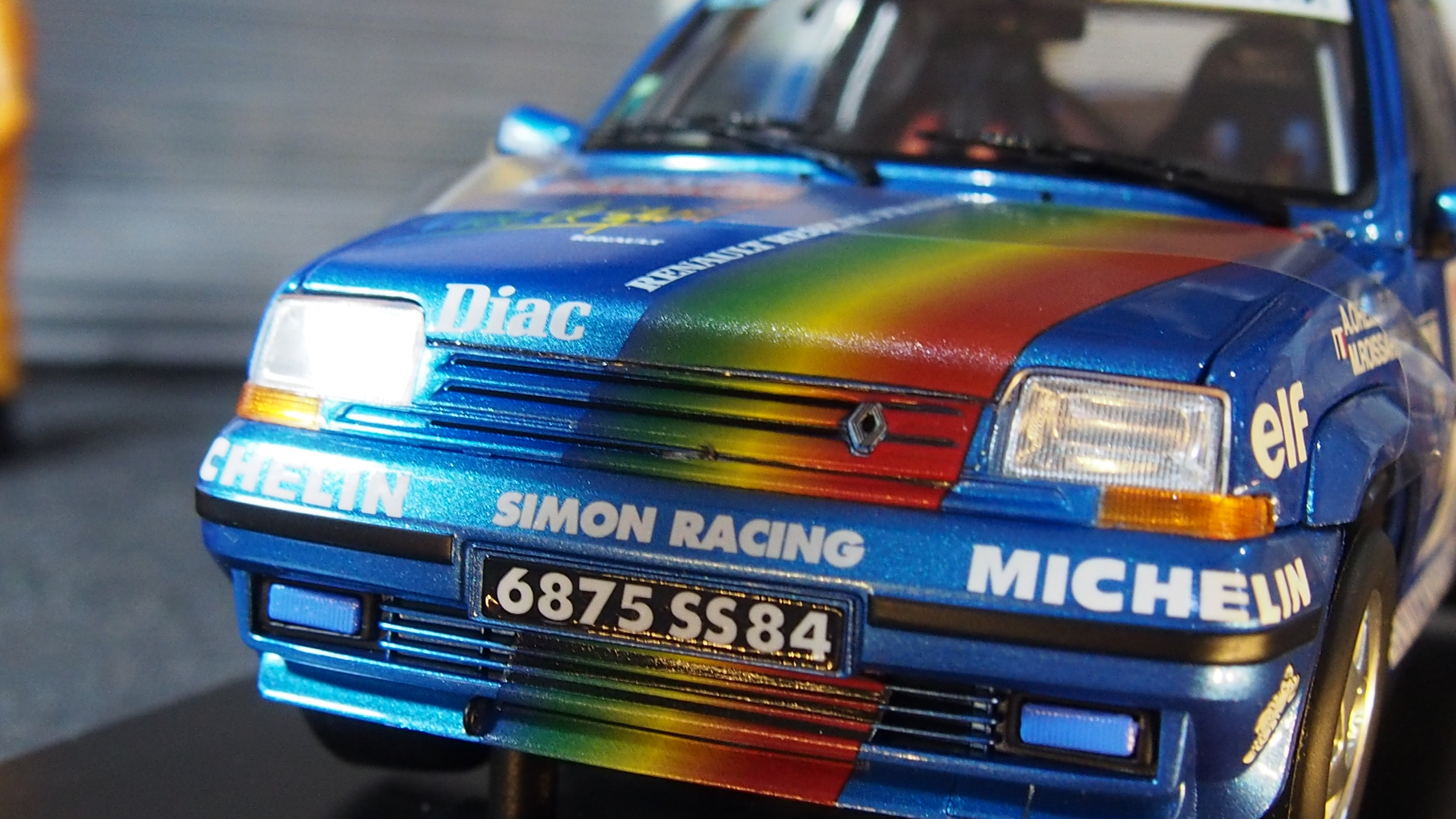 Renault 5 Gt Turbo New Boxed By Norev 1 18 Scale Cs Diecast Tuning