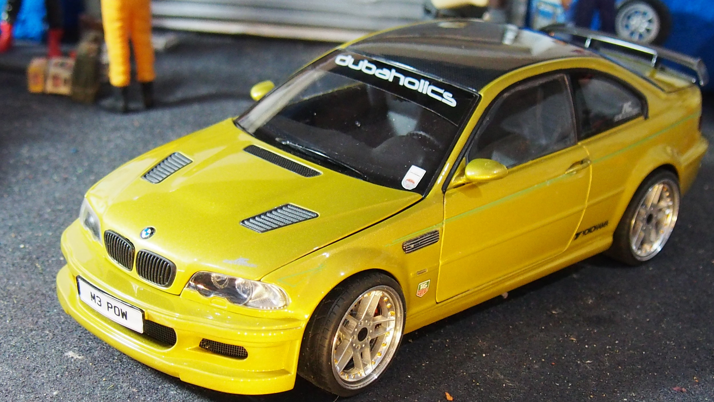 Bmw M3 Gtr Ac Schintzer Code 3 By Kyosho Boxed1 18 Total One Off Modified Tuning Umbau Cs Diecast Tuning