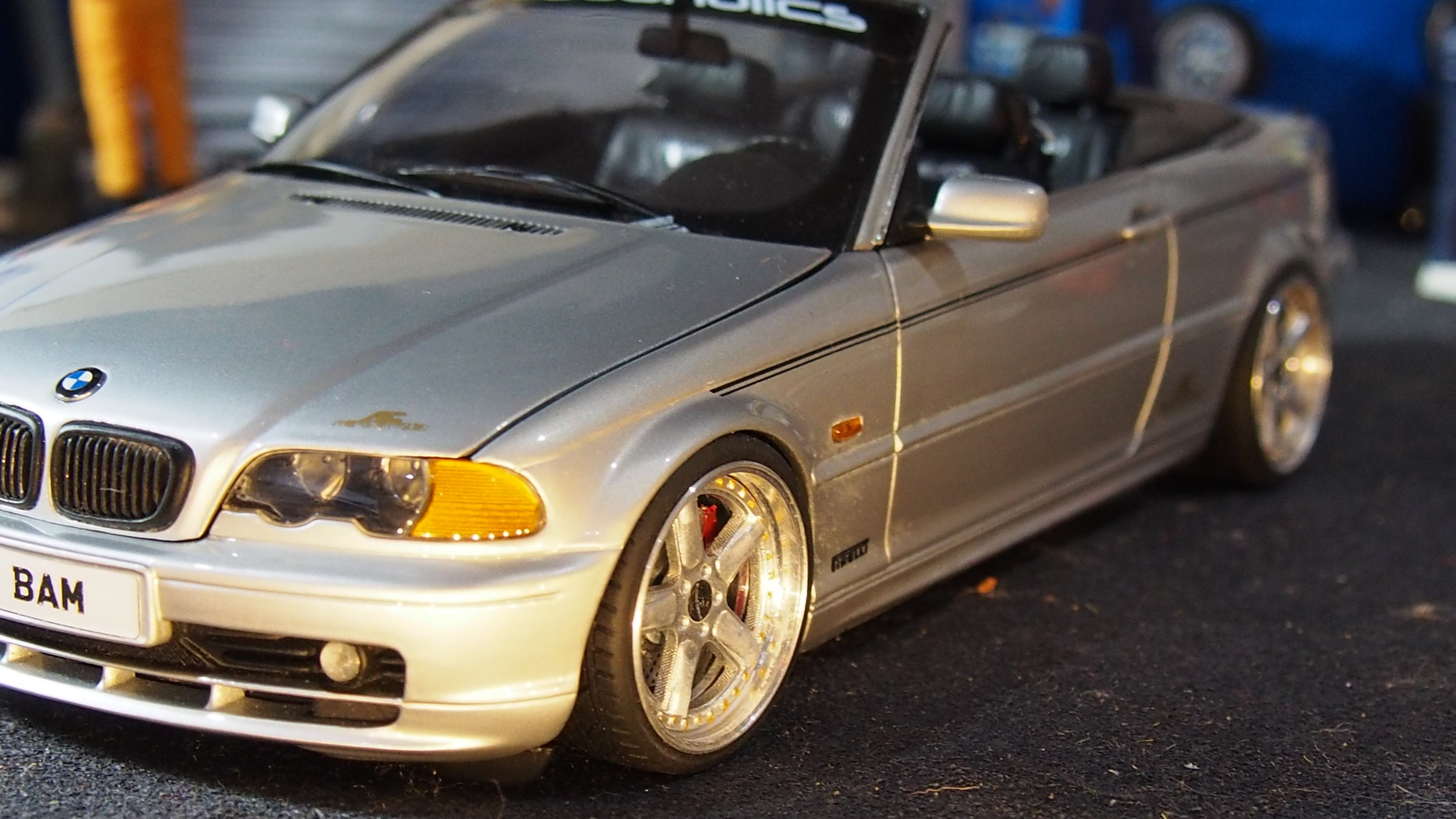 Bmw E46 328ci Cabriolet Ac Schintzer Code 3 By Kyosho Boxed1 18 Total One Off Modified Tuning Umbau Cs Diecast Tuning