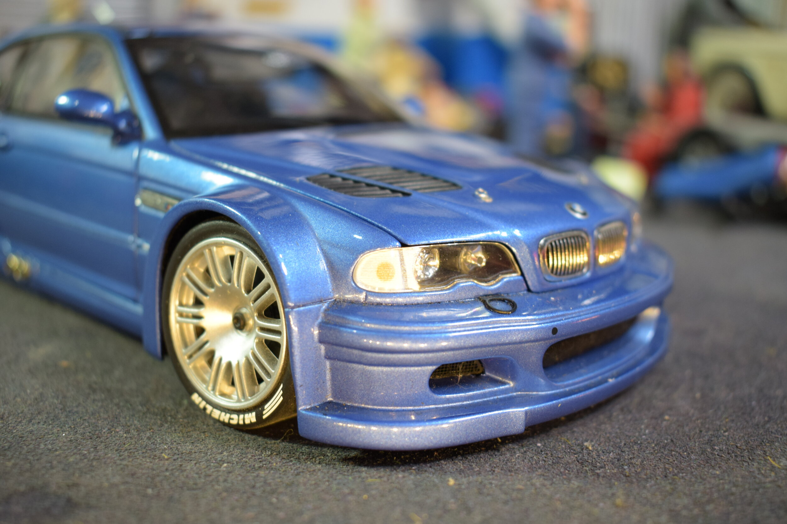 Bmw M3 Gtr Street 2001 By Minichamps 1 18 Scale Cs Diecast Tuning