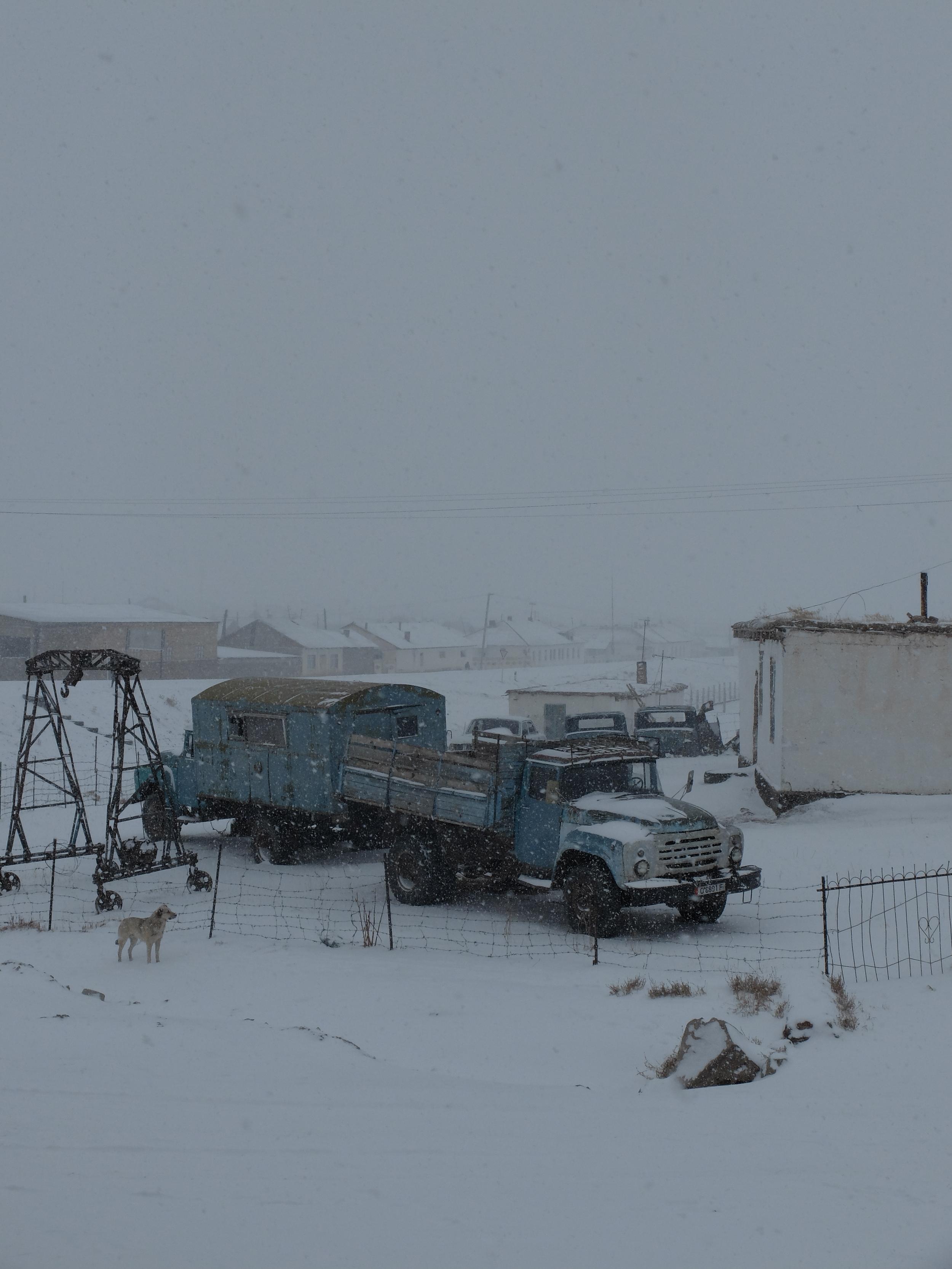 Snow day in Sary Tash