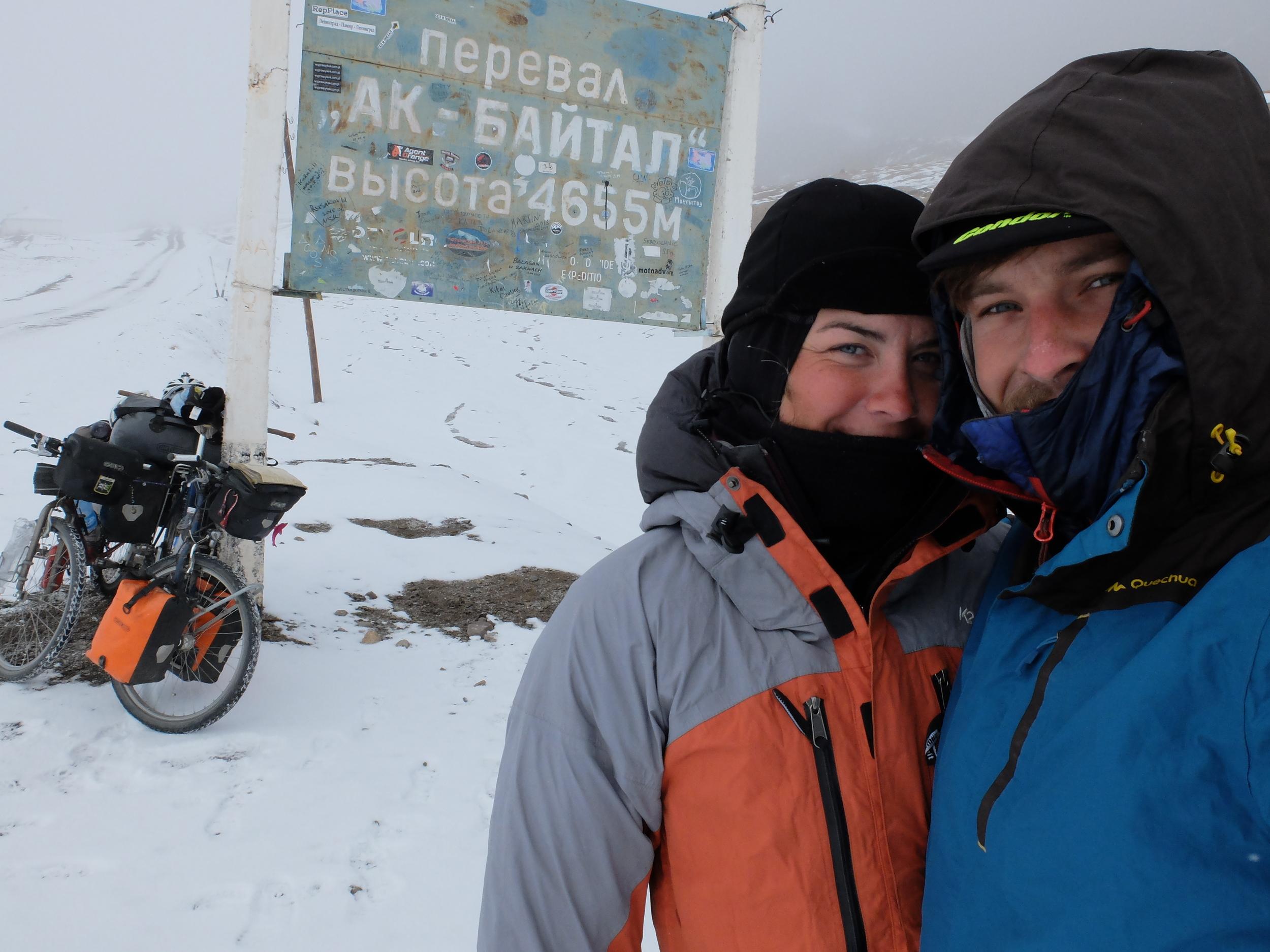 Akbaital pass 4655m