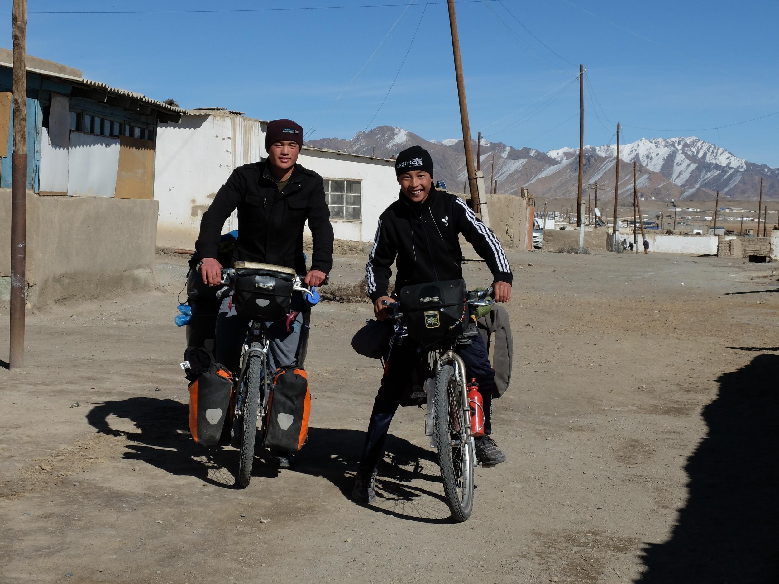 Tajik test pilots