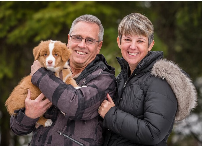 Murray, Oatis and Linda of Nanaimo BC.  pic by Tasha Hall, BC Farm and Family Photography