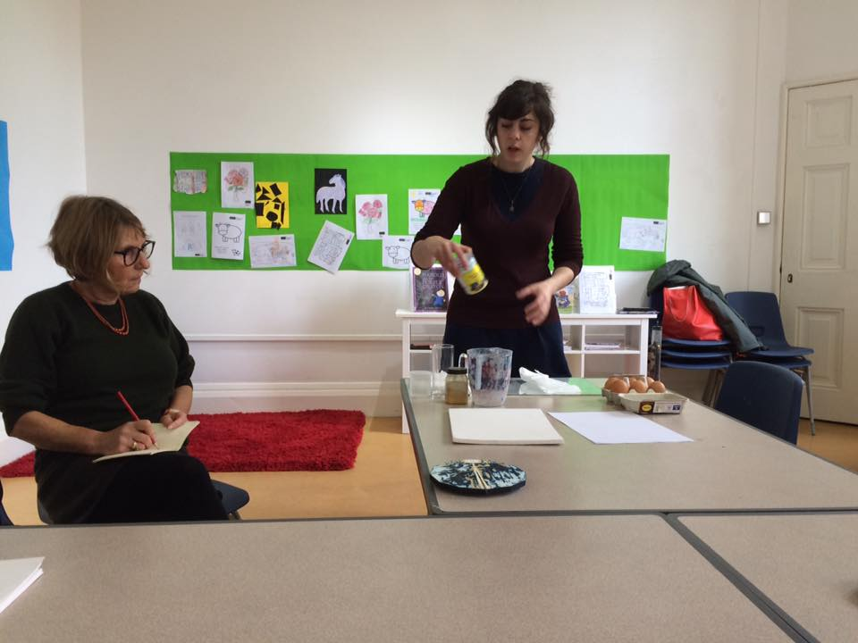 'Exquisite Corpse' talk and demonstration