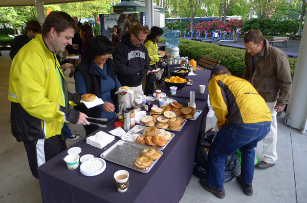 Free Breakfast at the Bike to Work Day Party