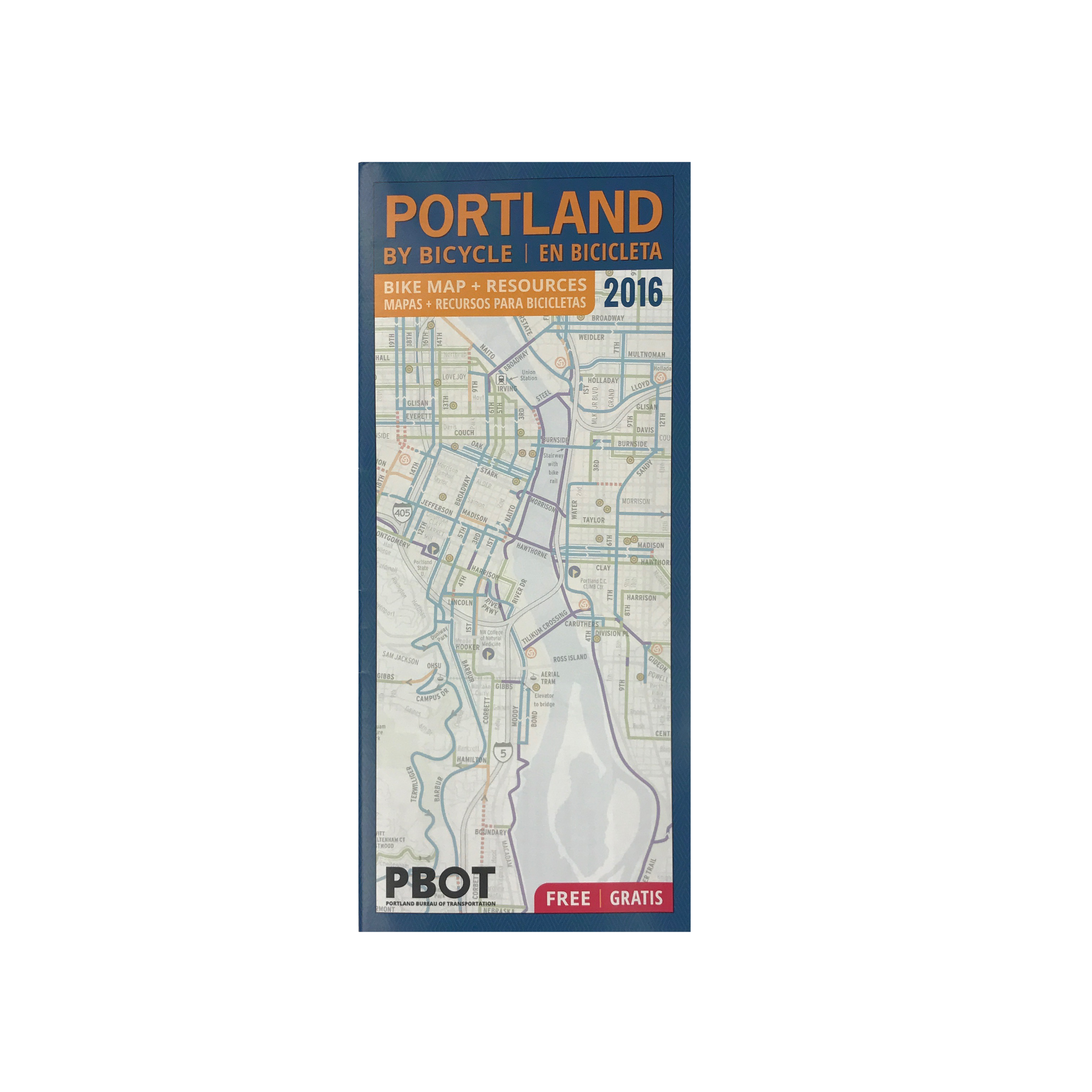 Portland City Wide Bike Map