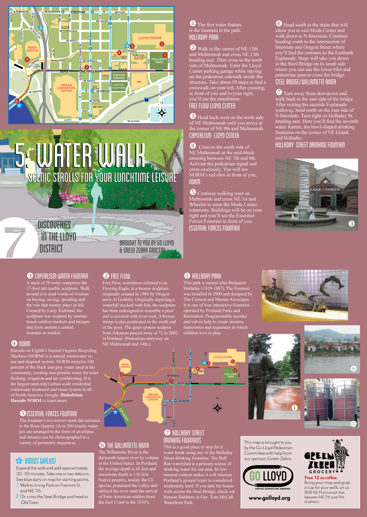Water Walk Map