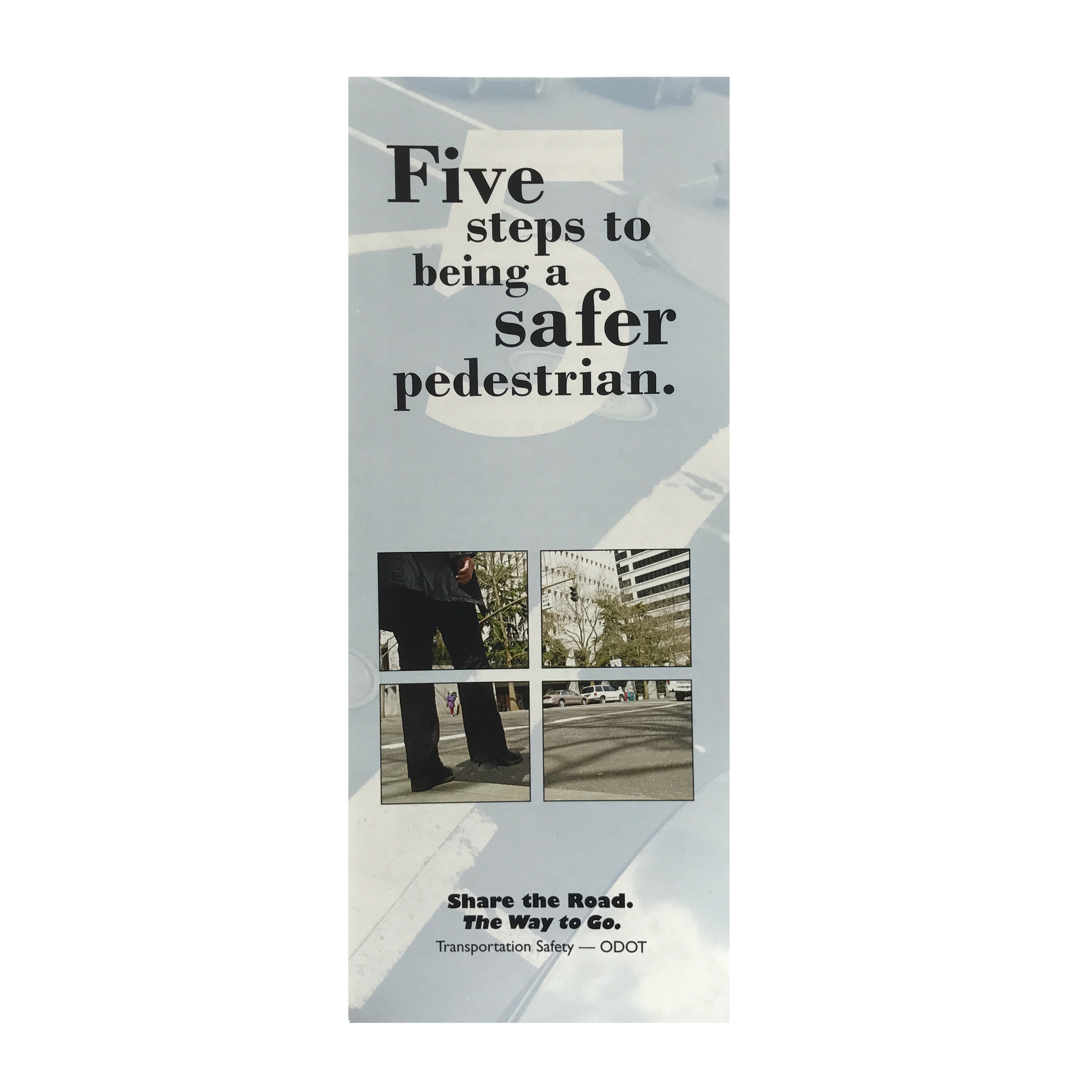 Five Steps to Being a Safer Pedestrian