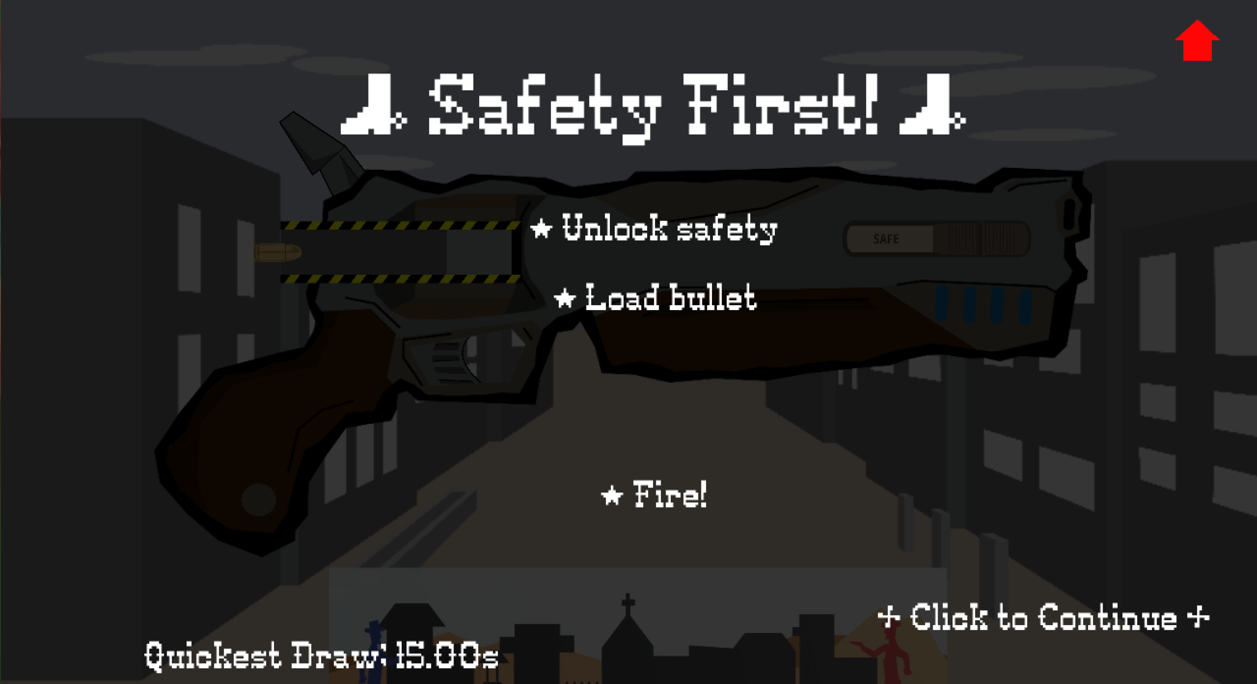 Title Screen for First Level