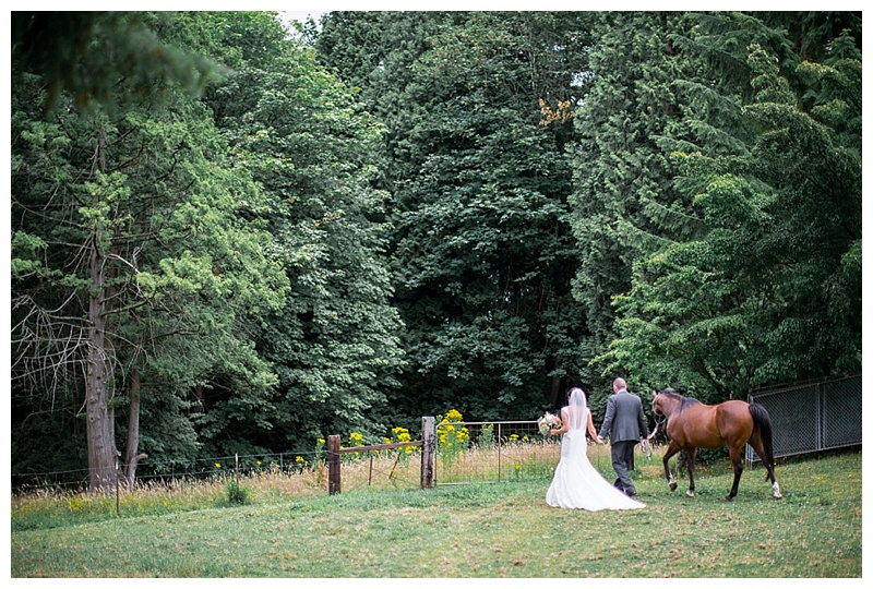 I 'm so happy I got to be this beautiful couples wedding photographer .  Jessica and Lucas are so fun, charming and generous.  This Back Yard wedding in Woodinville, Washington on a horse farm could not have been more perfect!