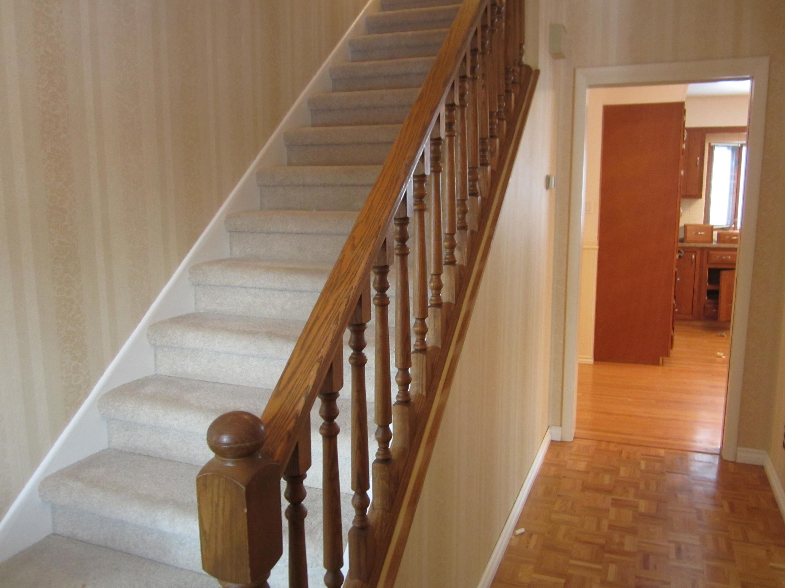 Stair Rail BEFORE