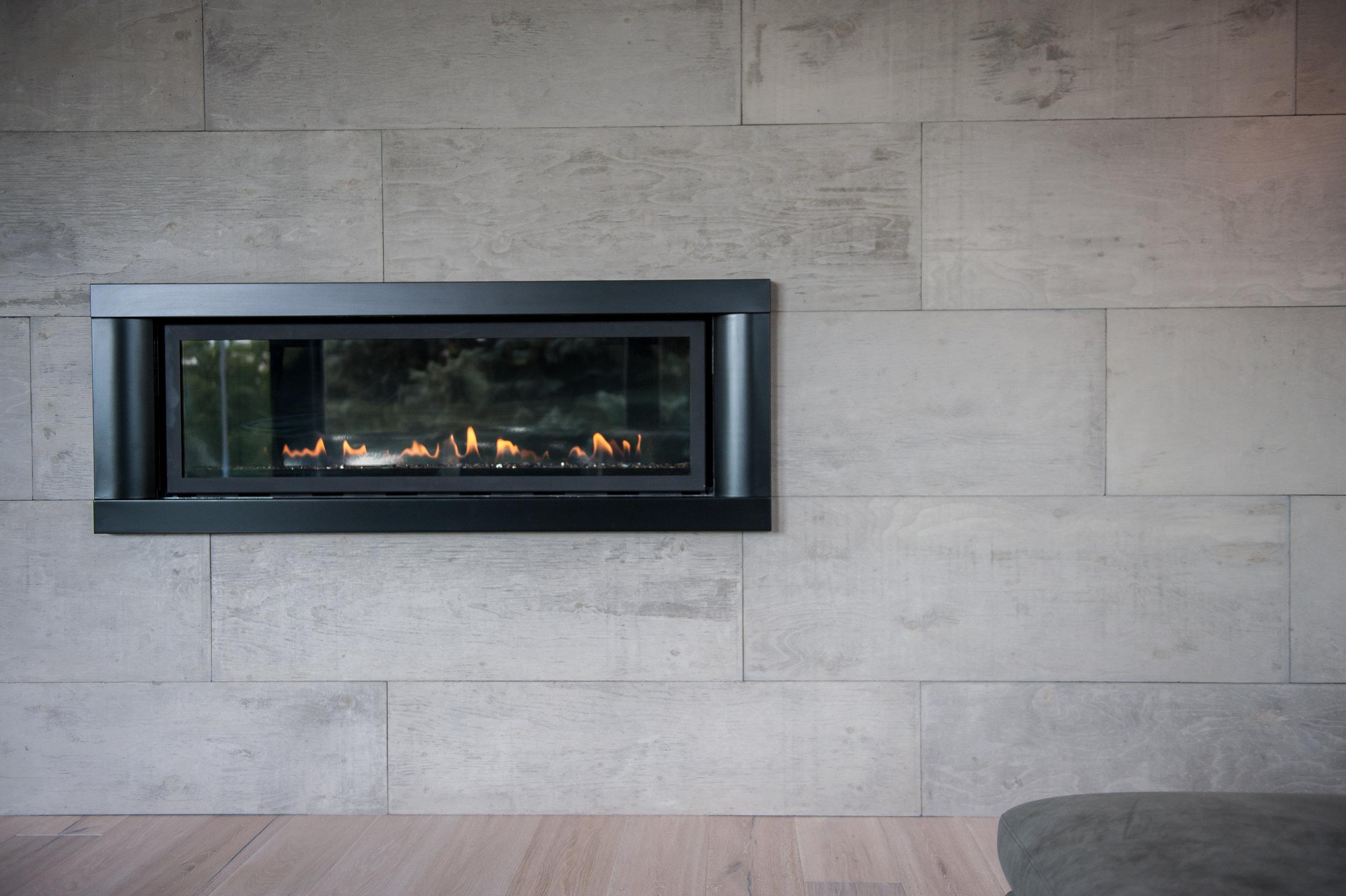 Fireplace Concrete