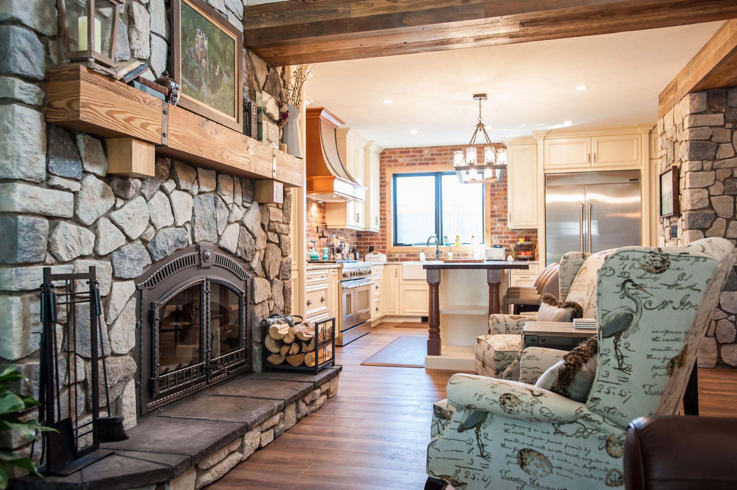 fireplace_stone_wood_mantel_rustic