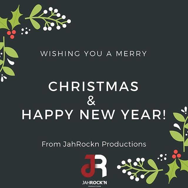 We at JahRockn Productions are wishing you all a Merry Christmas! God Bless!🎄🙏 #HappyHolidays  #MerryChristmas #TeamJahRockn