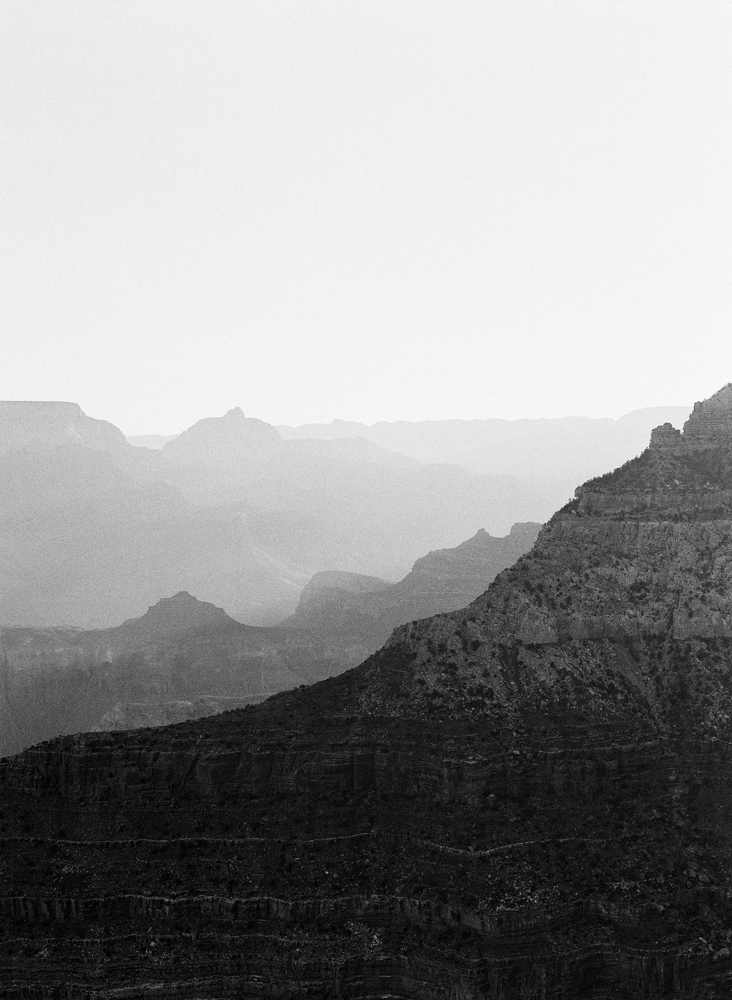 Sunrise Layers, Mather Point, South Rim