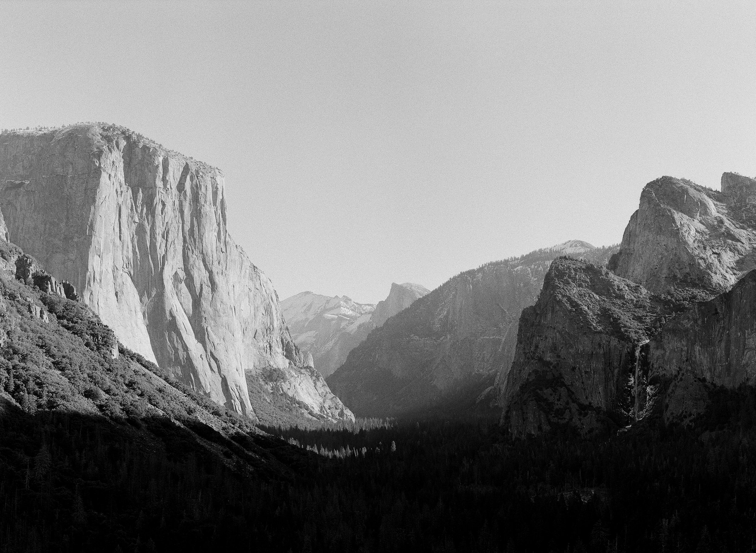 Tunnel View, Winter, No.1