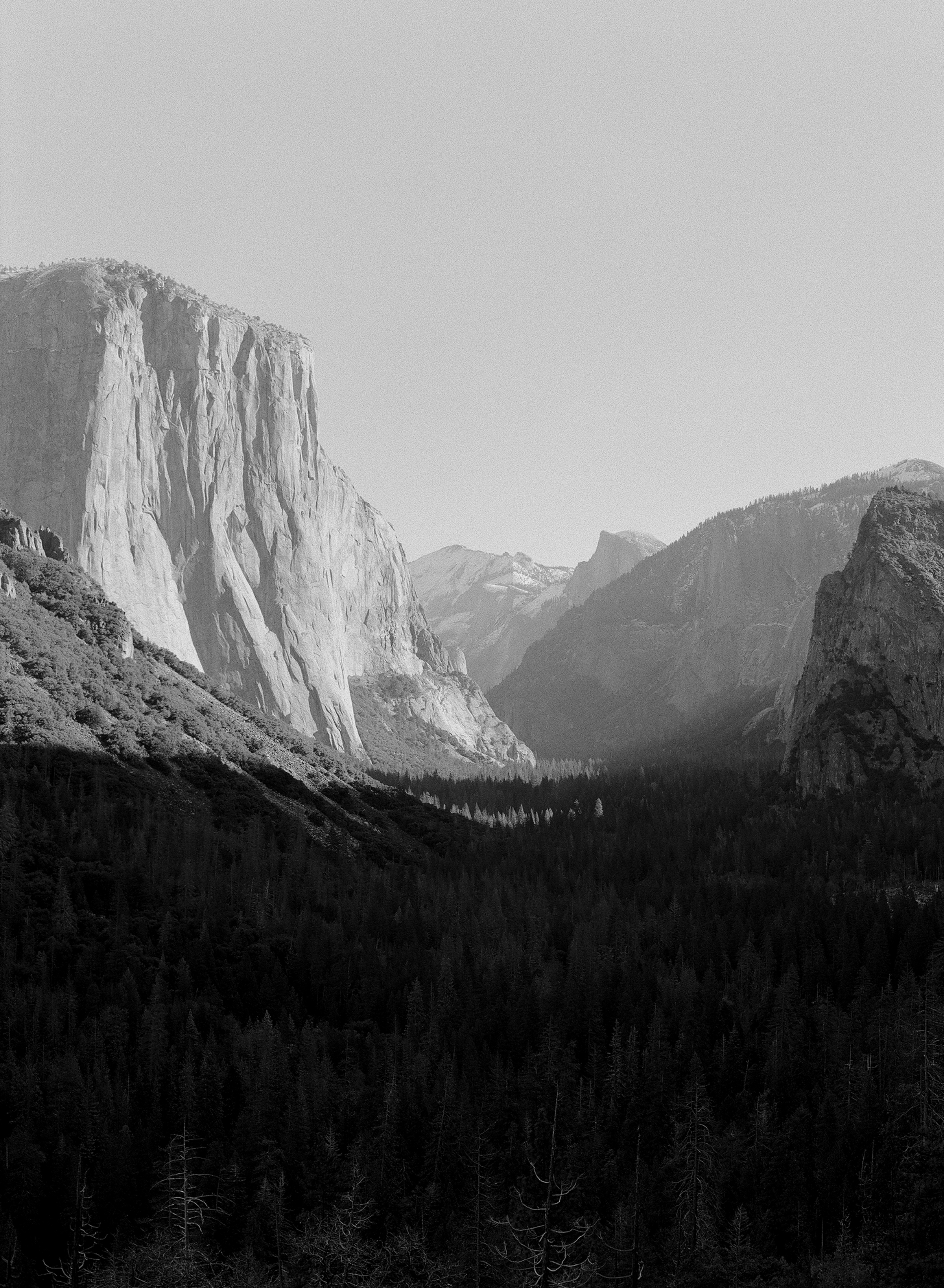 Tunnel View, Winter, No.2