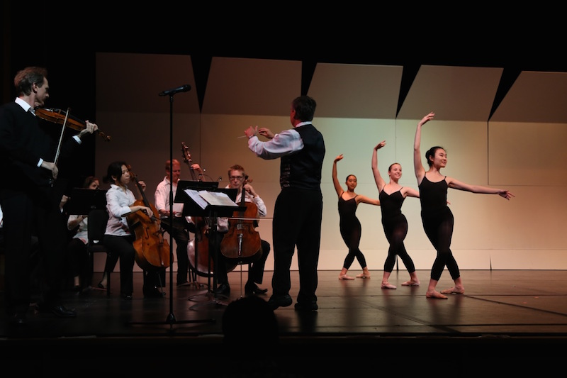 PBA STudio Company performs for sf chamber orchestra.  Photo by Kris Loew