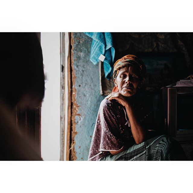 In her beautifully decorated home with walls of painted mud, Amsale tells of her victories and struggles as she has moved from homelessness to a place of sustainability Addis Ababa, Ethiopia 2015