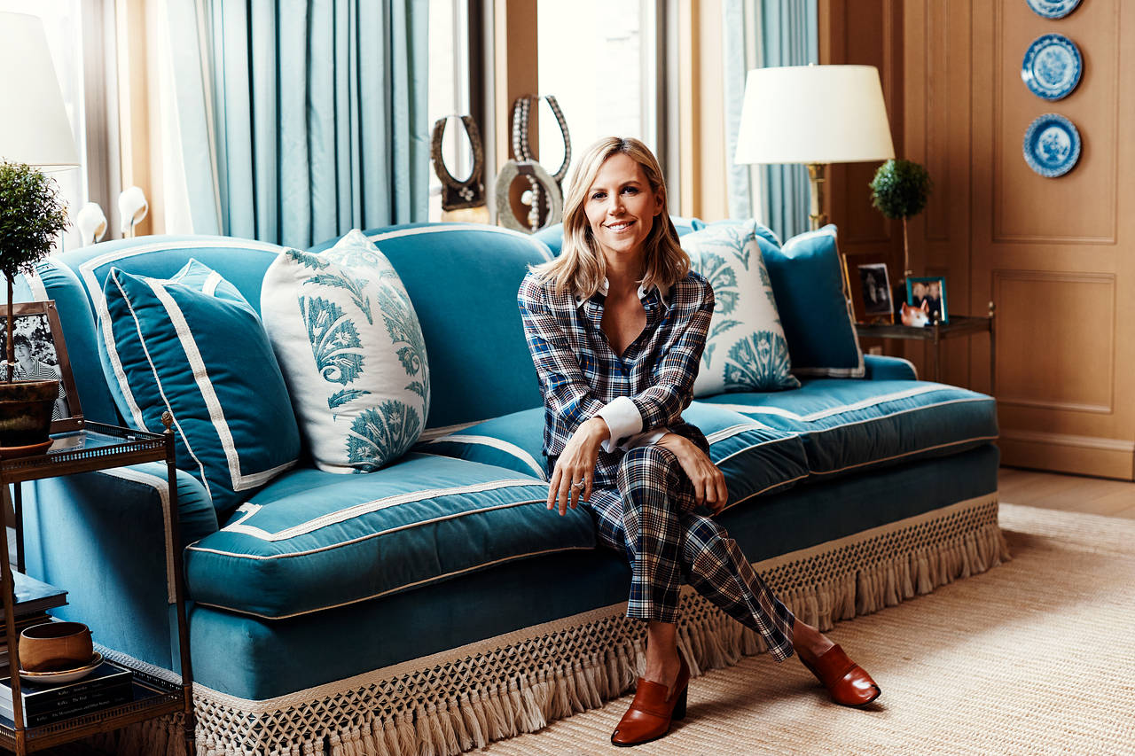 Tory Burch photographed by Weston Wells