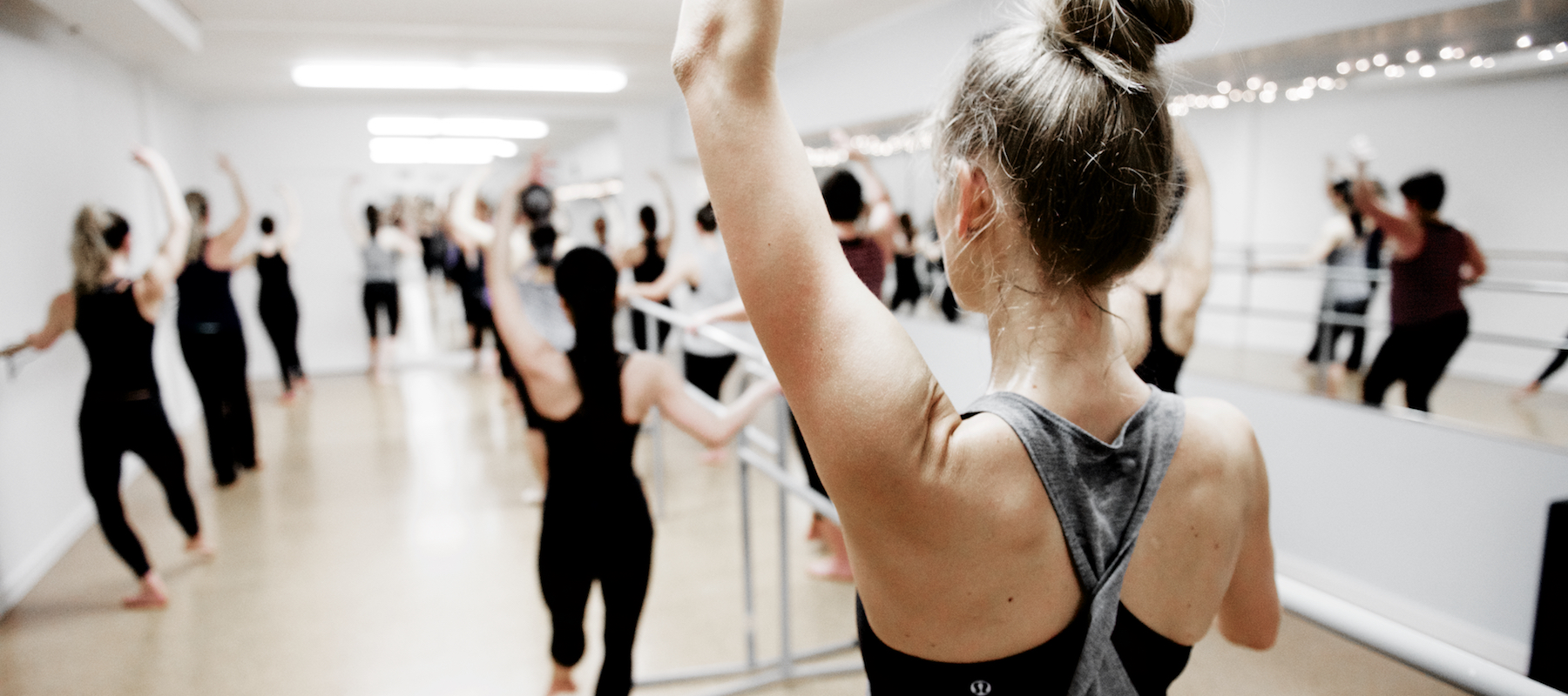 Try Ballet Barre Works   First month unlimited for $60   Move With  Us
