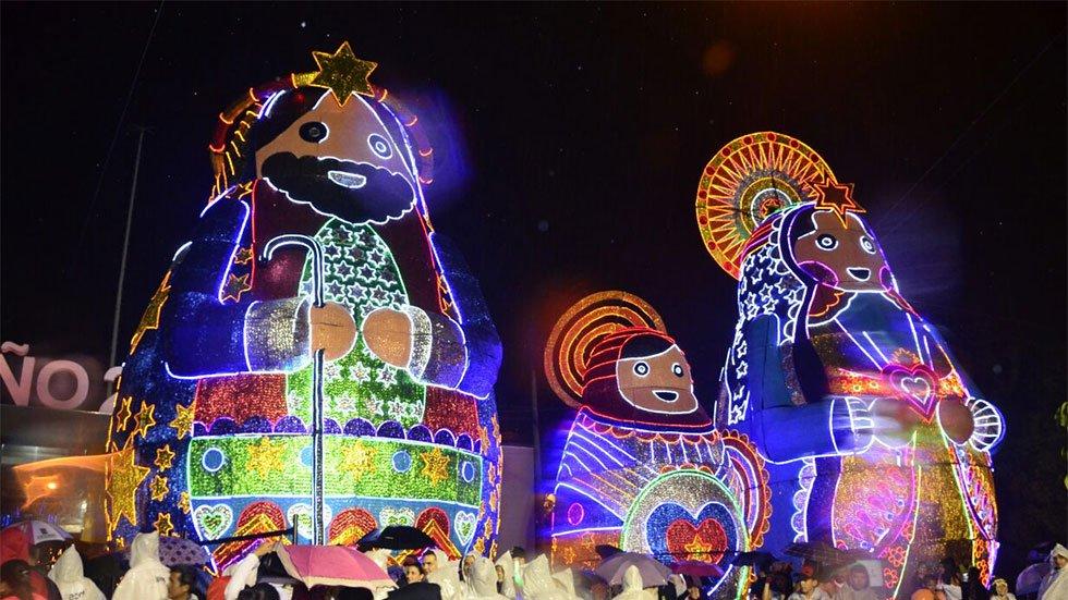 medellin holiday lights